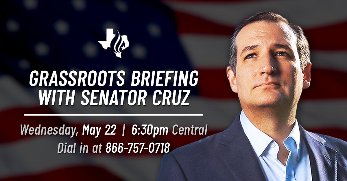 Our Grassroots Briefing kicks off in just a few minutes.  Dial in NOW --> (866) 757-0718