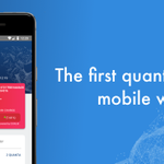 Image for the Tweet beginning: The QRL Mobile Wallet is