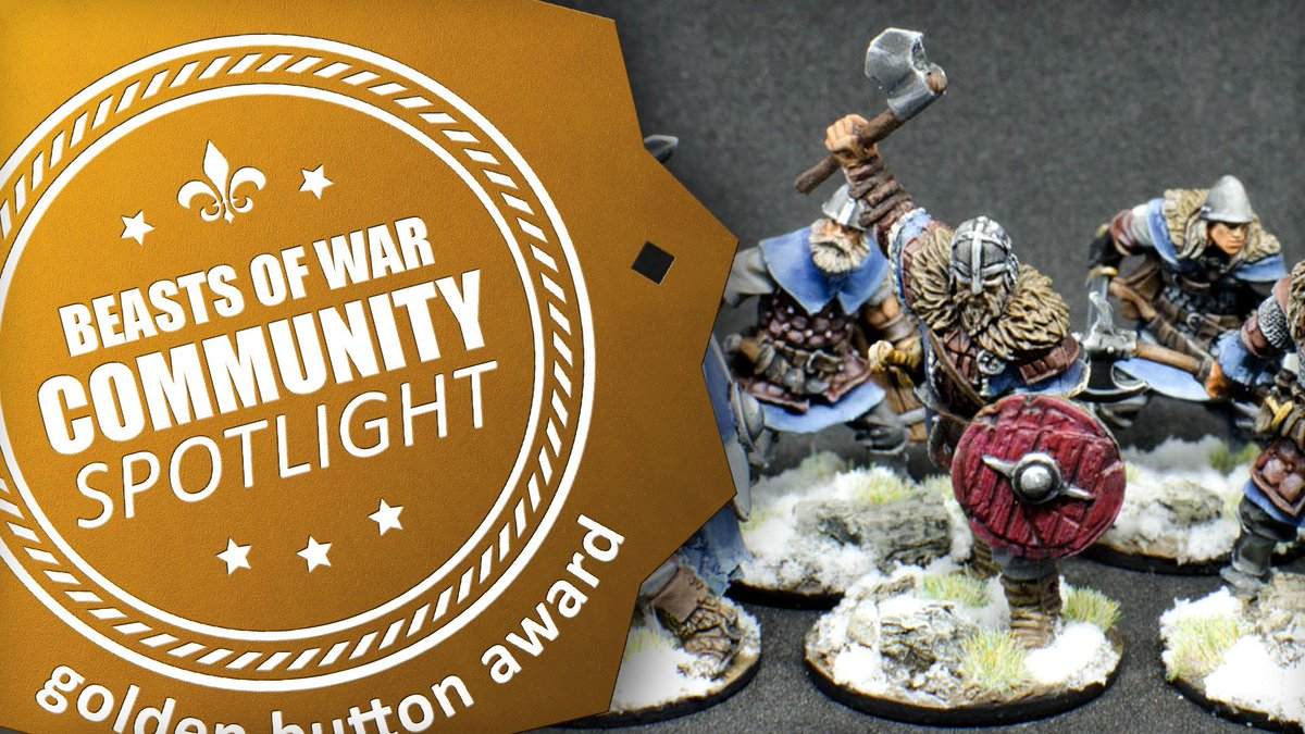 We're looking at some superb painting this week as Community Spotlight #ComSpot returns featuring Fantasy Vikings from #RedBoxGames, a set of Investigators from @FFGames and a Master Of Possession for the Chaos forces of #40K http://ow.ly/DPtO30oNqXq