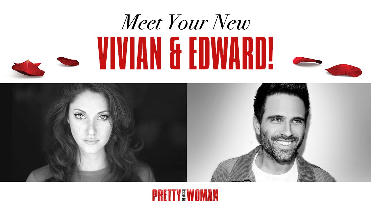This July, our very own Jillian Mueller steps into the spectacular shoes of Vivian Ward, joined by the mega-talented Brennin Hunt as Edward Lewis in his Broadway debut! More details to come, so stay tuned to our social channels. @jillimueller @brenninmusic #PrettyWomanTheMusical <br>http://pic.twitter.com/0qIPXPebrn