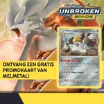 Ontvang nu een gratis Melmetal kaart bij aankoop van Pokémon Trading Card Games! Vervolledig je verzameling nu! 😉  Alle informatie kan je hier terugvinden: https://t.co/iWlwyfr36b~)