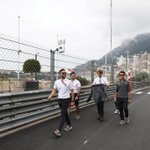 There's cool, then there's track walk in Monte Carlo cool. 🇲🇨😎 #MonacoGP