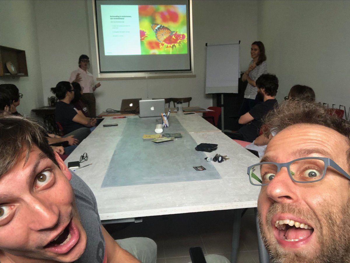when some new hires call for a blind all-hands meeting and come up with a full-fledged rebranding plan #stealthmode #initiative #greathires #startuplife #daje @uhopper<br>http://pic.twitter.com/Eh9yOeCvcs