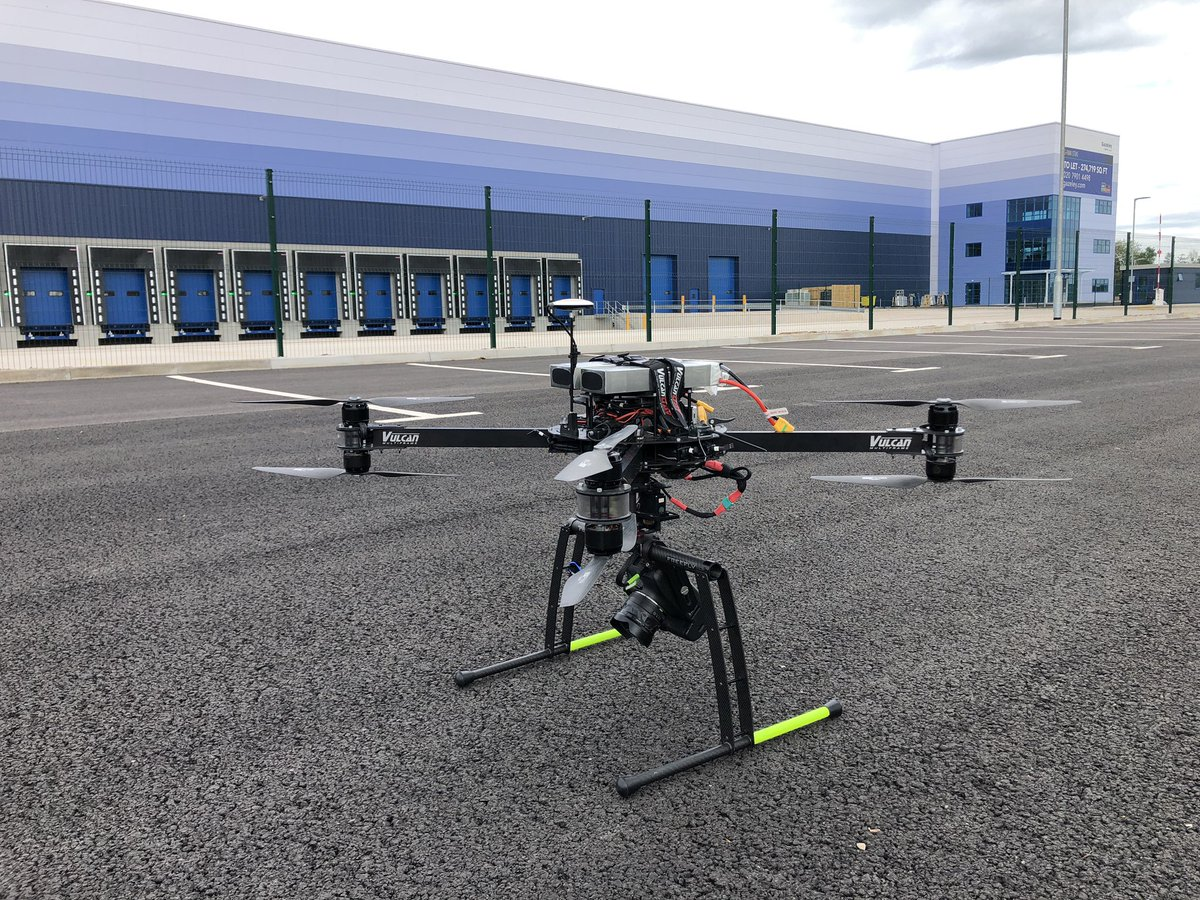 1 of 2 #warehouseproperty #virtualtour for repeat clients @Gazeley_News today - this is G-Park Stoke. Agents: @CBREIndustrial @JLLIndustrial #proptech #bigshed #sheds #commercialproperty  #aerial #realestate #vr #warehouseproperty #logistics @shedmasters @IASshedshifters