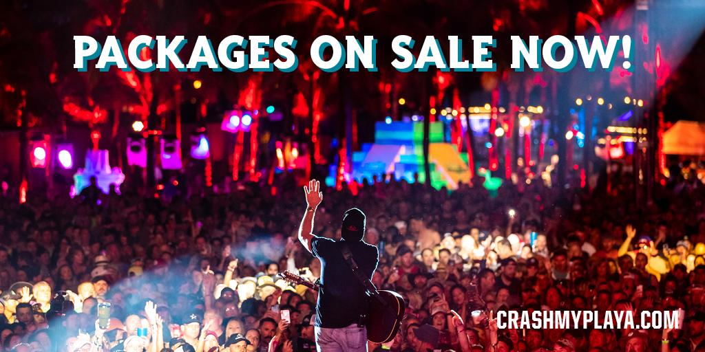 Excited to head back to @crashmyplaya for another year. Tickets go on sale today. https://www.lukebryan.com/