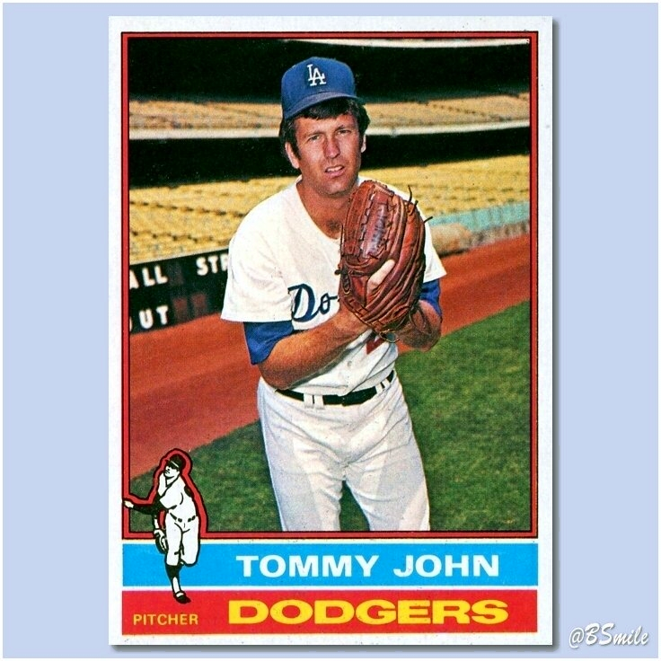 """Happy 76th Birthday Tommy John! ~ He won 288 games over 26 major league seasons, but will probably be best remembered as the first player to undergo ulnar collateral ligament reconstruction, aka """"Tommy John Surgery""""! #MLB #History"""