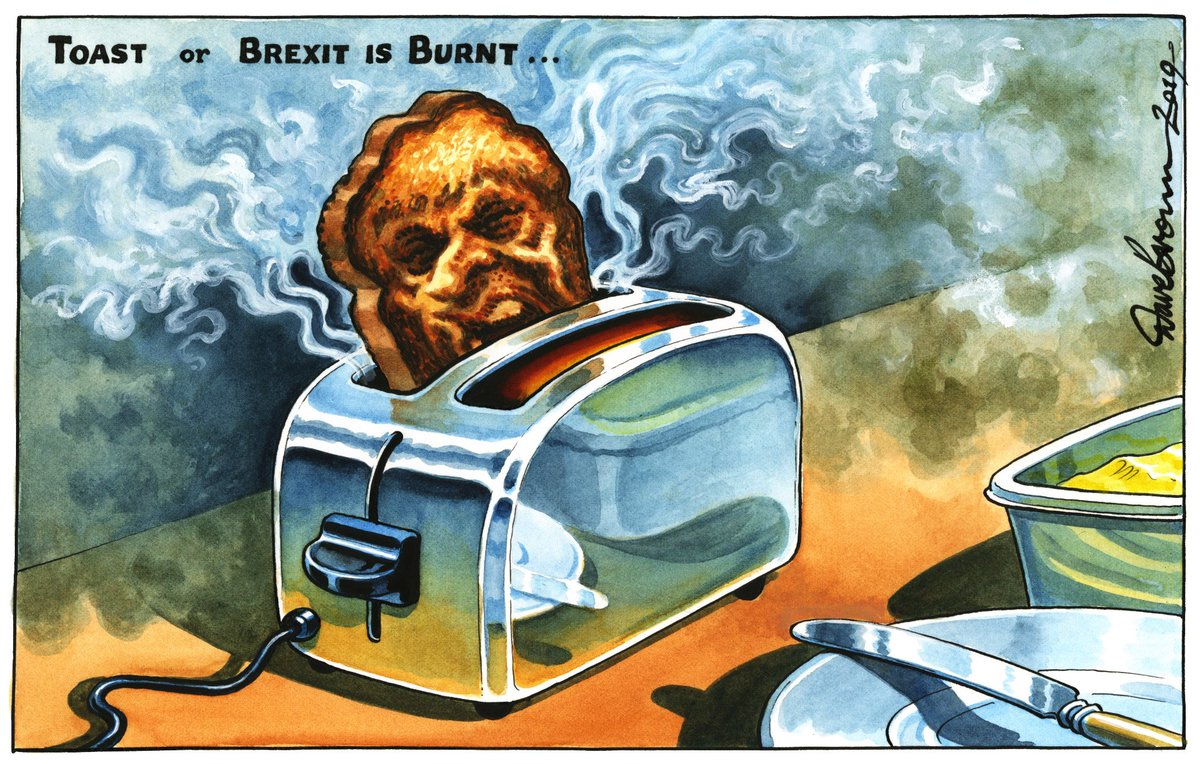 Tomorrow's @Independent cartoon... #TheresaMay #Brexit #BrexitDeal #ZombieGovt #ToryLeadership<br>http://pic.twitter.com/JR8dhYCtD7