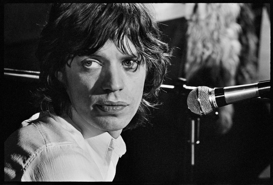 Mick Jagger at The Marquee, March 1971 Photo by Alec Byrne <br>http://pic.twitter.com/VAFHtdp97o