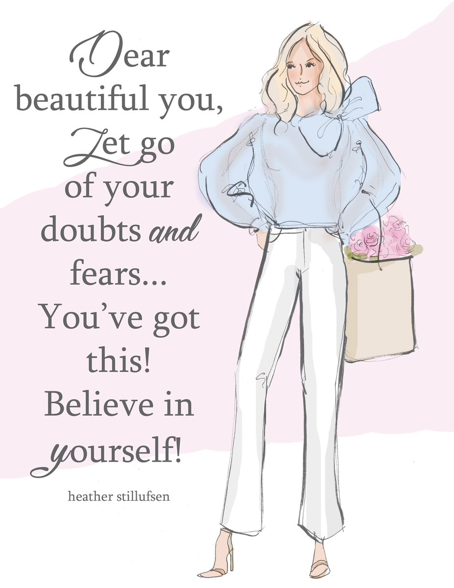 Let go of your doubts and trust your gut! Believe in yourself beautiful YOU! #wednesdaythoughts  <br>http://pic.twitter.com/STzSWIZ0XX