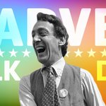 Image for the Tweet beginning: Happy #HarveyMilkDay!   As California's first