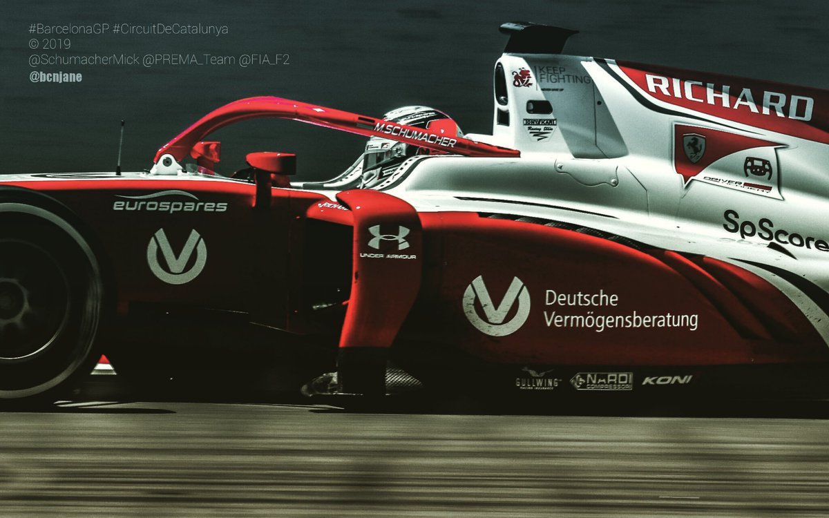 #BarcelonaGP #CircuitDeCatalunya #sóccircuit @SchumacherMick @PREMA_Team @FIA_F2