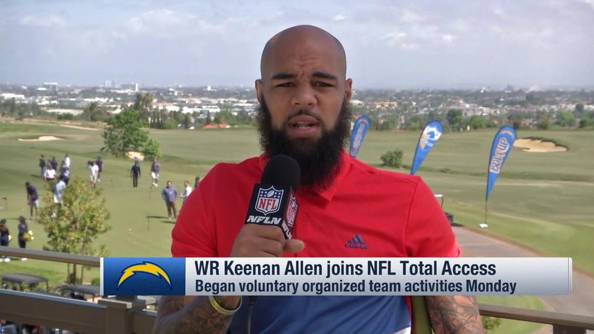 I put myself at the top with those guys. @Keenan13Allen talks about being one of the elite WRs and looking at the 2019 season for the @Chargers 👇 📺: @NFLTotalAccess