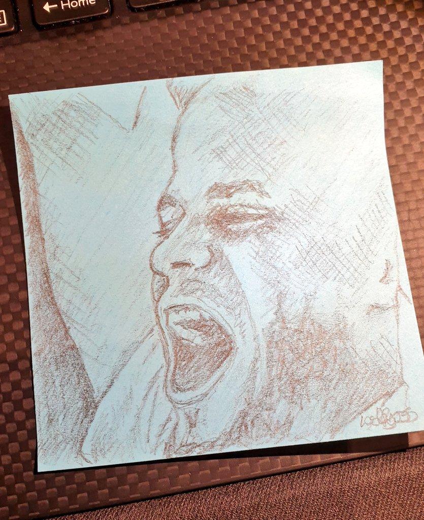Post it note pencil Vinny sketch. My Captain. 💙 #mancity #sketch #pencil #art
