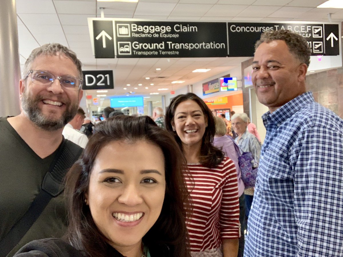 Leaving Atlanta, home of @ronclarkacademy, ready to bring back and share our experiences with our staff! #DSUSDpride #amistadeagles #WatchUsSoar <br>http://pic.twitter.com/jRXsI9PsTQ