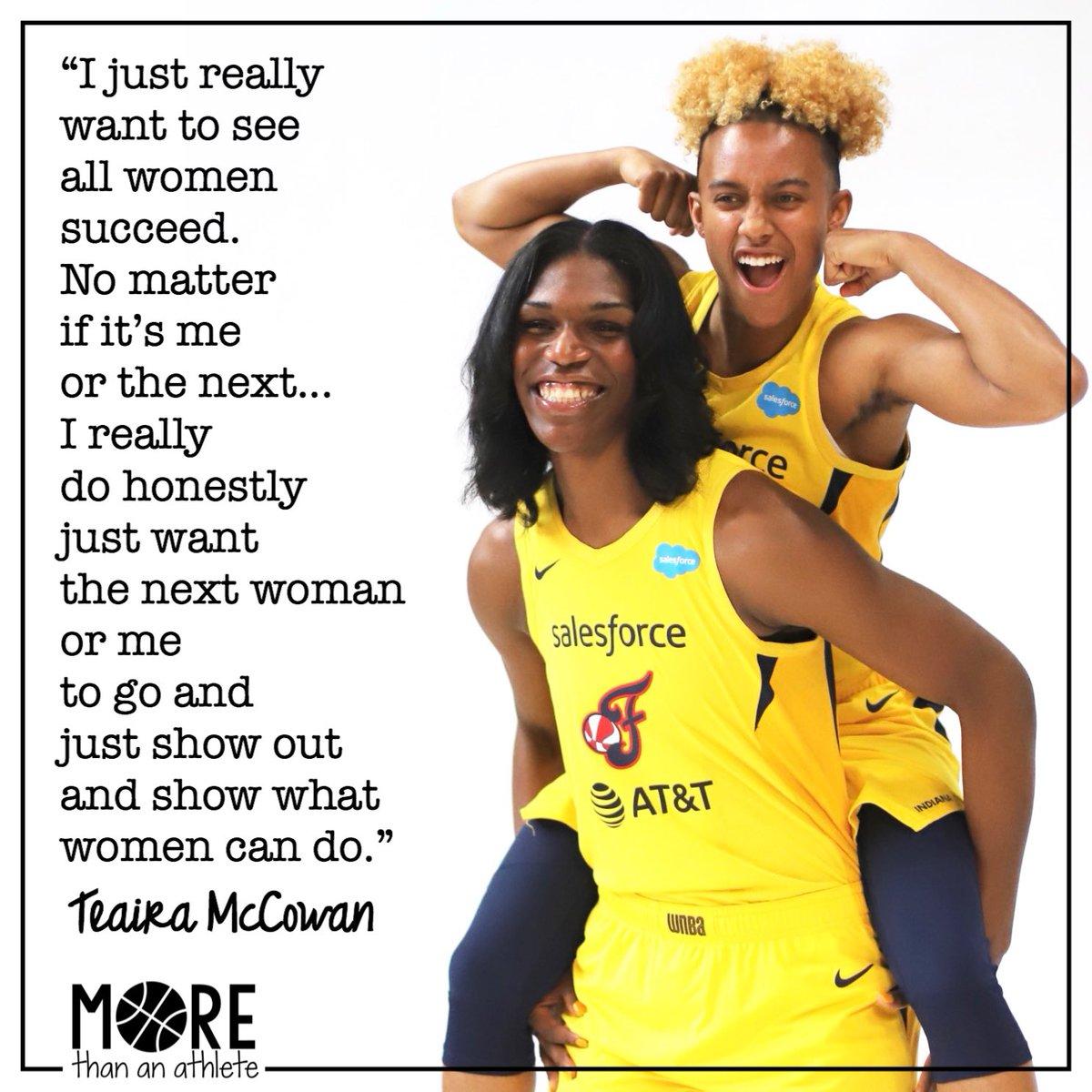 @Teaira_15 on women empowering other women. ❤️ . #fever20 #allforlove #hailstatewbk #indianafever