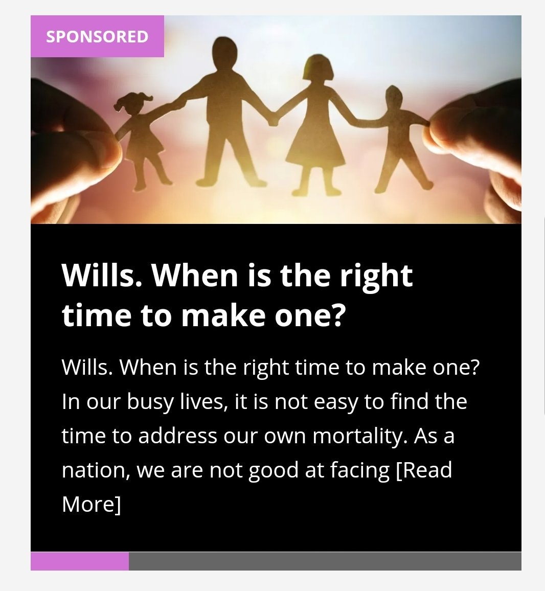 Have you got a will.? Two thirds of the adults in the UK have not got a will which is quite shocking. We have a great piece by @FishersLaw on the reasons we should all have one in place. Get 10% off a will quote:#mamalife  https://www. mamalifemagazine.co.uk/wills-when-is- the-right-time-to-make-one/  …  #dyingmattersweek #LawTwitter<br>http://pic.twitter.com/oBVcNE2Dhg