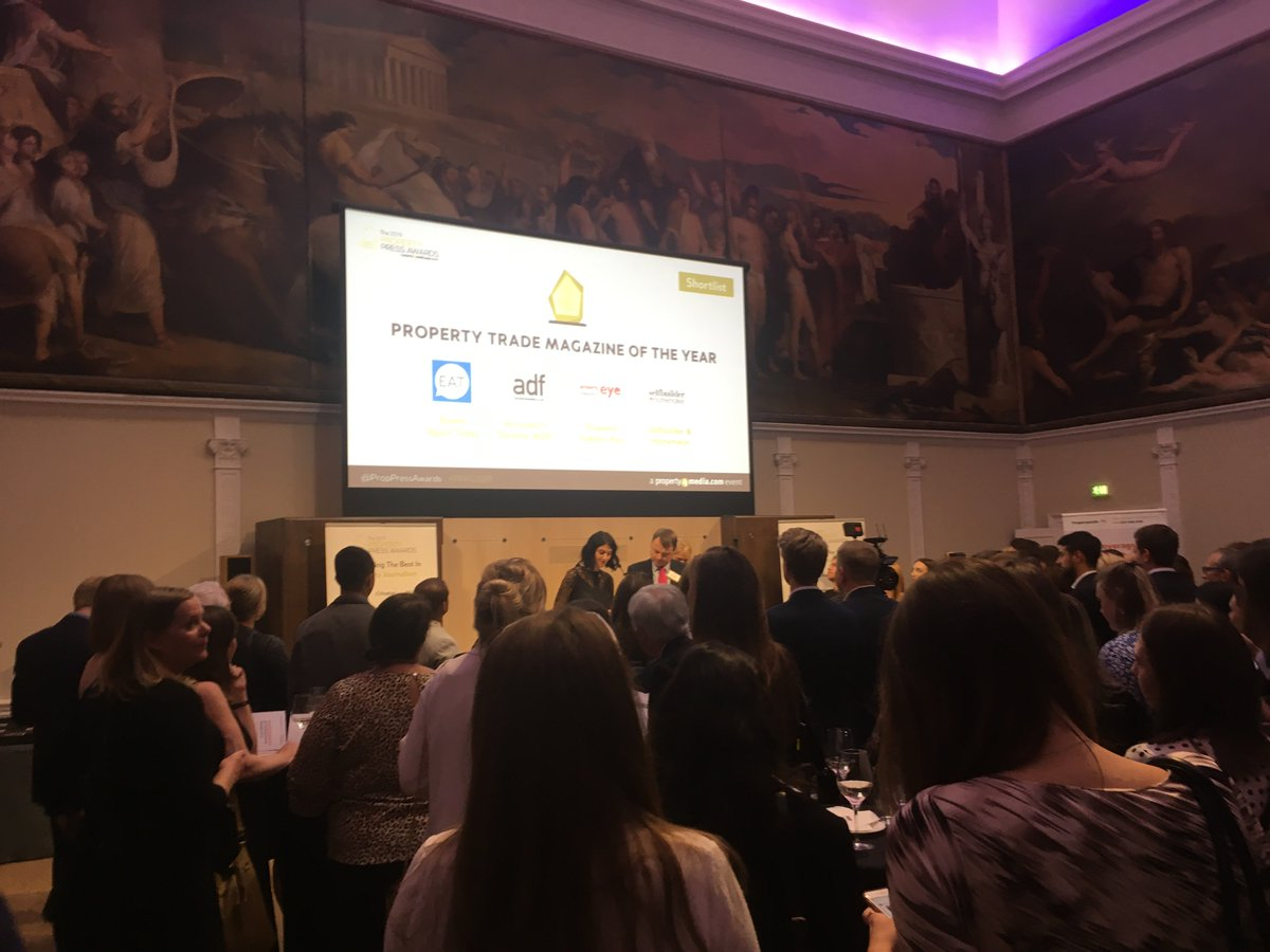 We had such a great time at @Prop4MediaUK 's Property Press Awards 2019 yesterday - congratulations to all the winners!  #propertypress #awards #celebrating #propertyprpic.twitter.com/QtdHfZtSwt