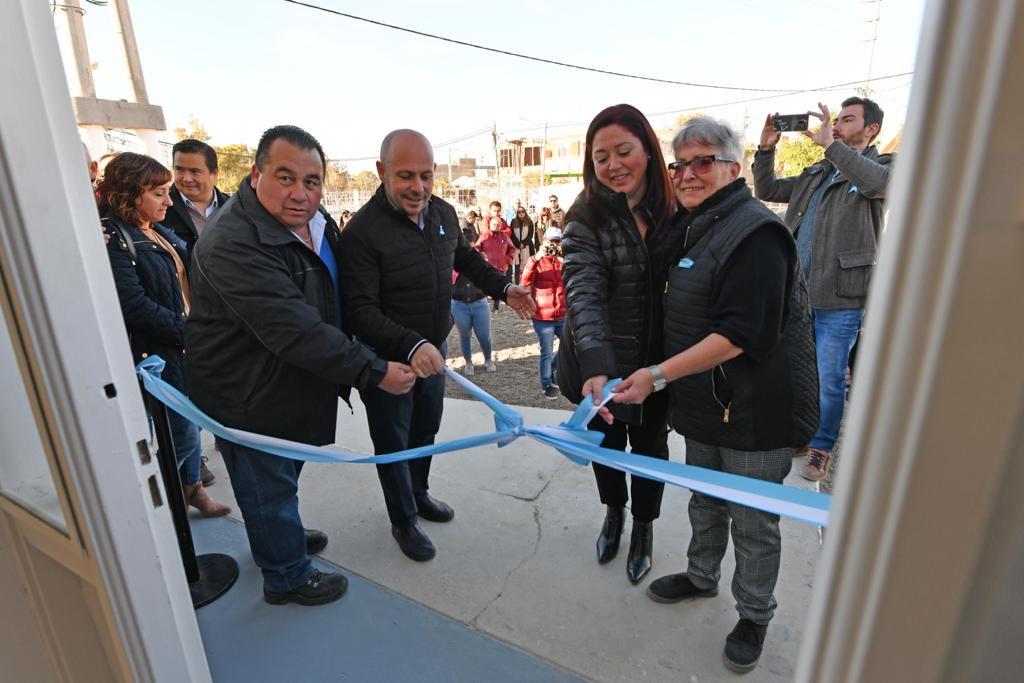 Hoy inauguramos el MuniCerca 4, en el Barrio Pujol, y en los próximos días instalaremos el 5 en Solana, en el mismo predio donde funciona la Junta Vecinal #HacemosMadryn #Chubut
