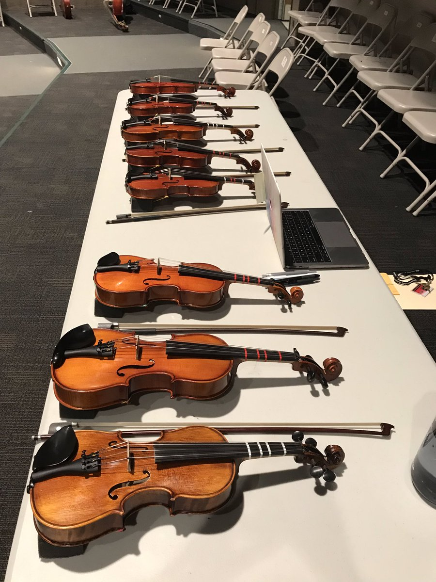 Gearing up for Day Three of Instrument Fittings tonight at Caruso Middle School!  #musiceducation #engage109 @DPS109<br>http://pic.twitter.com/qDXxiw1yYe