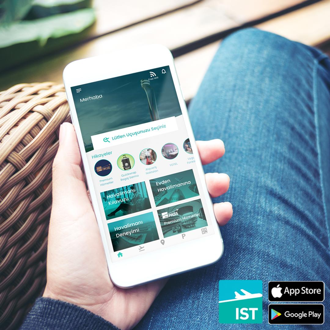 Seyahat deneyiminizi kolaylaştıracak her şey, Istanbul Airport mobil uygulamasında!📱Uygulamayı hemen indirin, seyahatinizi daha keyifli geçirin. ✈  iOS 👉 http://bit.ly/istanbulairportios… Android 👉 http://bit.ly/istanbulairportandroid…
