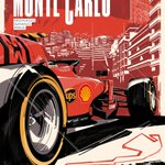 We're colouring Monaco red with our passion ❤️  Time to go racing in one of the most spectacular tracks in #F1 🏎 : it's the #MonacoGP this weekend 🇲🇨  Cover Art by Valerio Schiti ✏️ #essereFerrari 🔴 #SF90