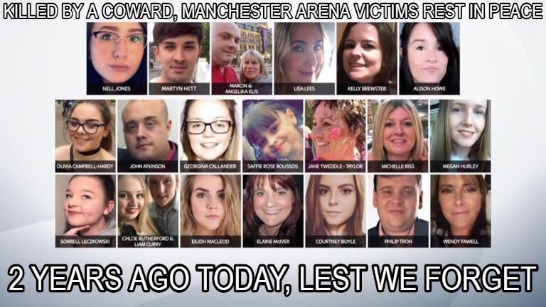 R.I.P to each and every one of the innocent people who sadly passed. #OneLoveManchester #ManchesterRemembers