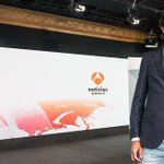 Image for the Tweet beginning: Informativos Antena3 emitió una entrevista exclusiva