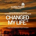 Image for the Tweet beginning: IHDA's Single Family Rehabilitation (SFR)