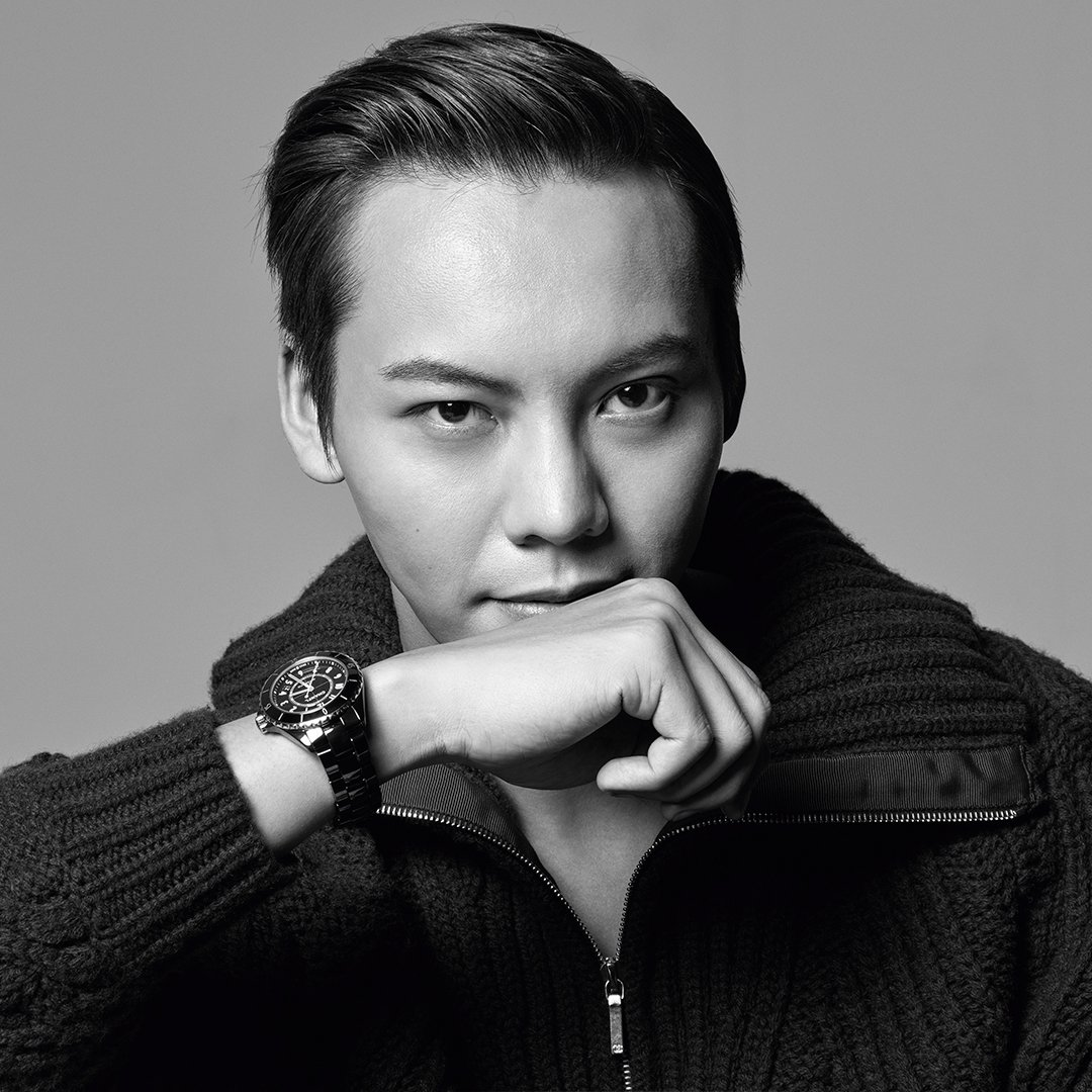 THE NEW J12. IT'S ALL ABOUT SECONDS. Stop for one second to discover the new J12. A legend in watchmaking, the timepiece has been reinvented while preserving its identity. A new way to see time. Discover the watch on http://chanel.com/-j12williamchan #TheNewJ12 #ItsAllAboutSeconds