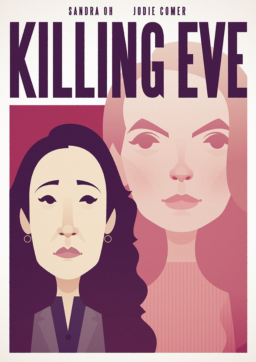 Because I can't be arsed waiting for someone to commission me to do a #killingeve  illustration.. and that I couldn't sleep last night, I decided to get on with it and do one anyway!<br>http://pic.twitter.com/KMQcRazXfB