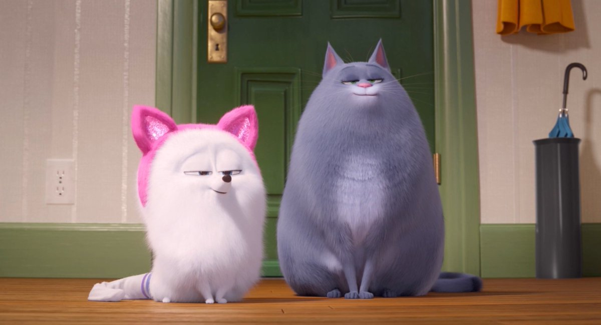 Turns out Gidget is pretty good at being a cat! 🐶🐱 Check out this exclusive first look of #TheSecretLifeOfPets2 and see it in theaters June 7.
