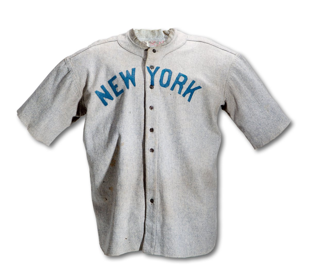 0f9a1dfd786 (3/3) It's expected to break the Guinness World Record for sports  collecting, currently held by the same Babe Ruth for his 1920 Yankee jersey  that sold for ...