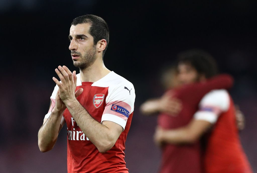 """""""I struggle to find words for how strongly I feel.""""  Arsenal are to meet Uefa after Henrikh Mkhitaryan ruled himself out of the Europa League final due to security fears.  In full: https://bbc.in/2WgBVdE #AFC"""
