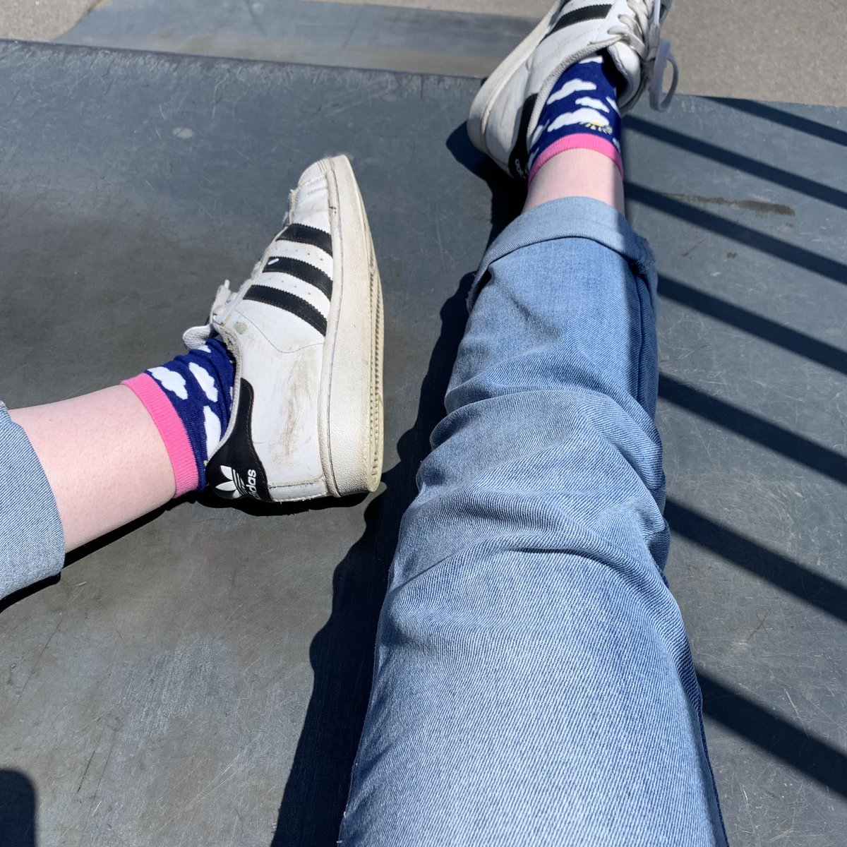 today's ##socks ^_____^ have a nice day everyone !!