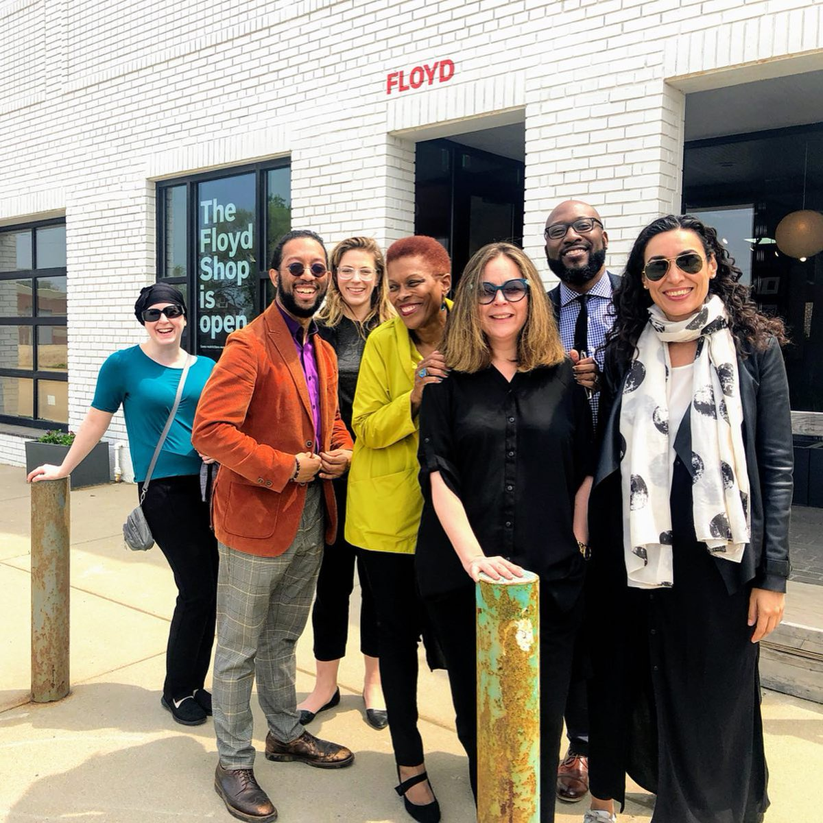 Last weekend we visited the 2019 Commerce Design: Detroit Finalists! Joined by our local and international jury, we visited all 20 locations to see how they are utilizing design. Winners will be unveiled on August 8, but for now visit bit.ly/2HJkWXR to learn more!