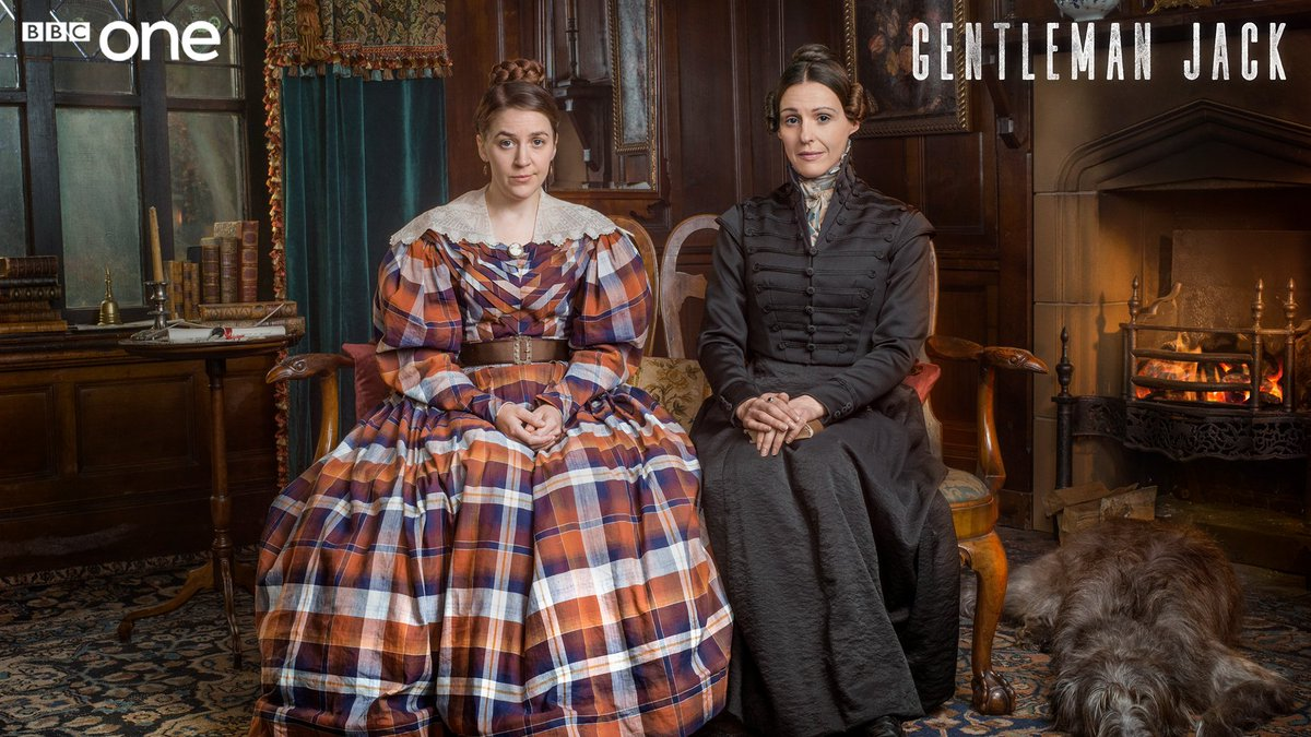 While Anne is gallivanting around the country, seeking justice, wooing women and striking business deals, her sister has to keep everything else at home in check.   @WhelanGemma is Marian Lister in #GentlemanJack.