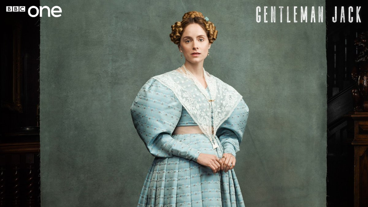 A delicate soul, trapped by her over-protective family. She also happens to be extraordinarily wealthy. @rundlesophie (#PeakyBlinders) is Ann Walker in #GentlemanJack.