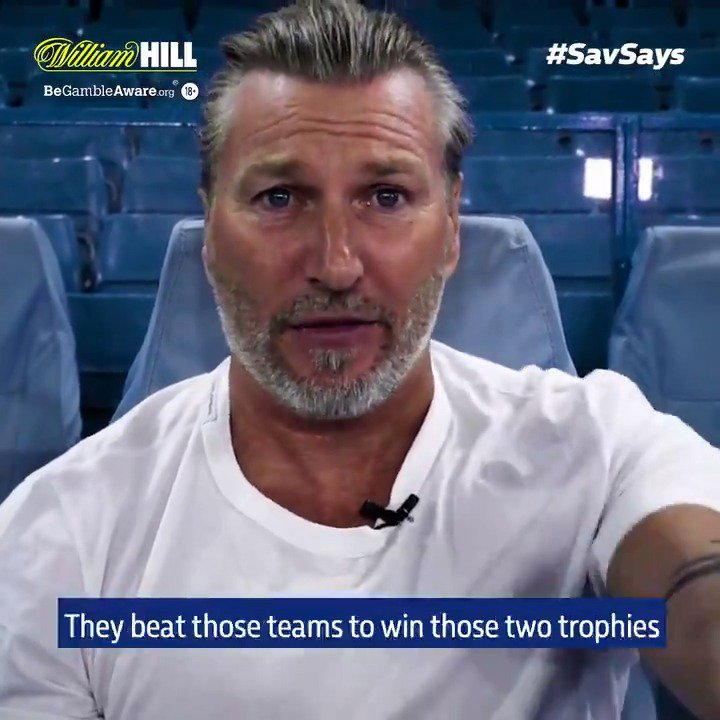 """🏆 Who did the treble better - United or City?  🗣️ @RobbieSavage8: """"For me, it's not in question. It's a matter of fact.""""  #SavSays"""