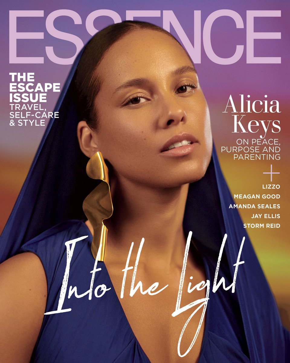 Alicia Keys covers @Essence Magazine's June issue! <br>http://pic.twitter.com/H5HdHPoiwQ