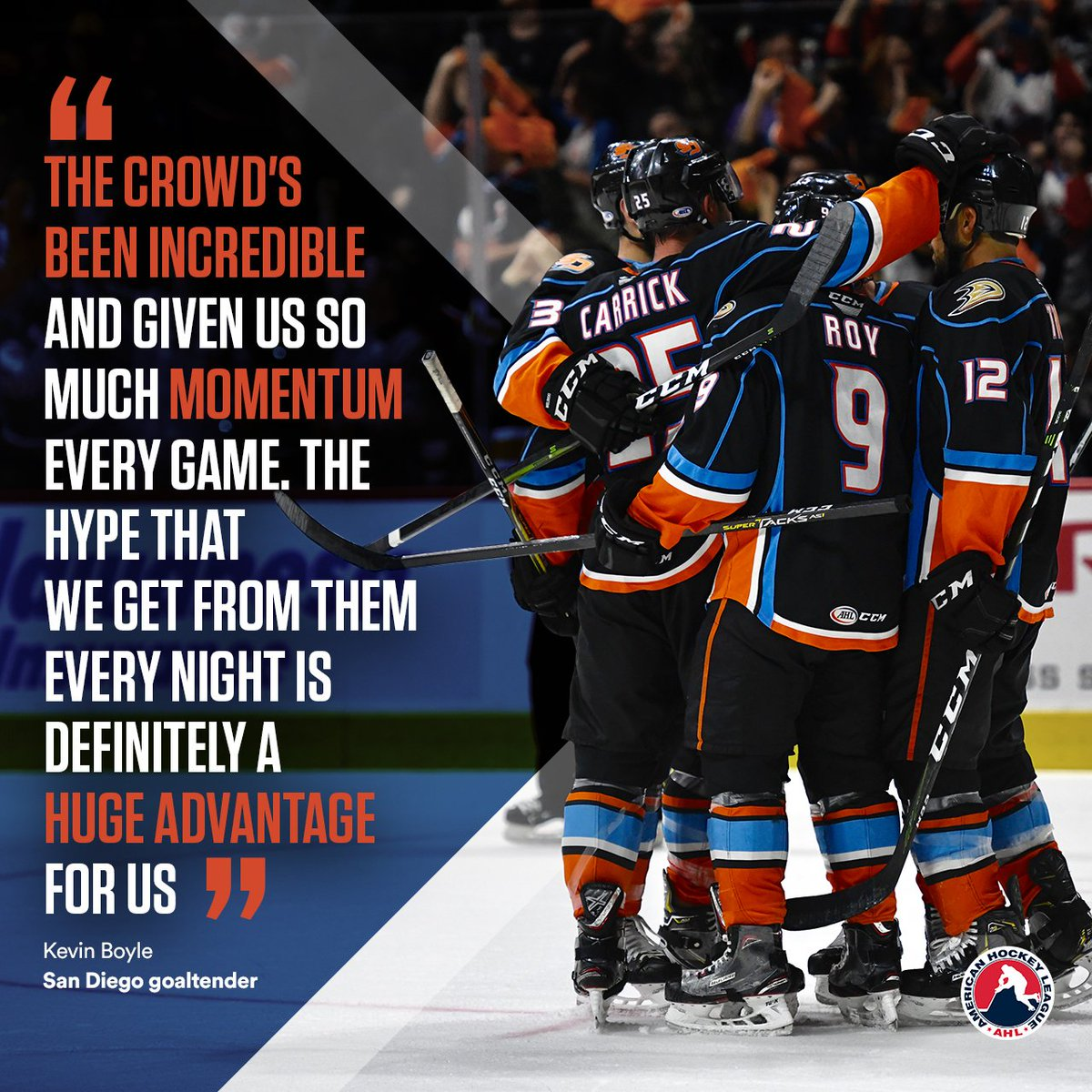 The @SDGullsAHL are in the driver's seat of the Western Conference Finals as the series shifts back to San Diego.   → http://bit.ly/2JXEwCH