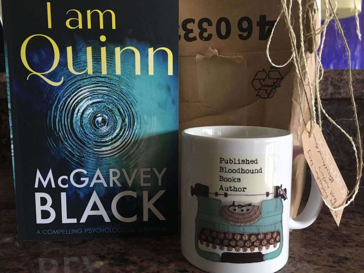 Look what I got in the mail today from my lovely publisher Bloodhound  Books.  It came on my publication day of #IamQuinn   Thank you everyone! @Bloodhoundbook #bloodhoundbooks<br>http://pic.twitter.com/JZZkMcs7rW