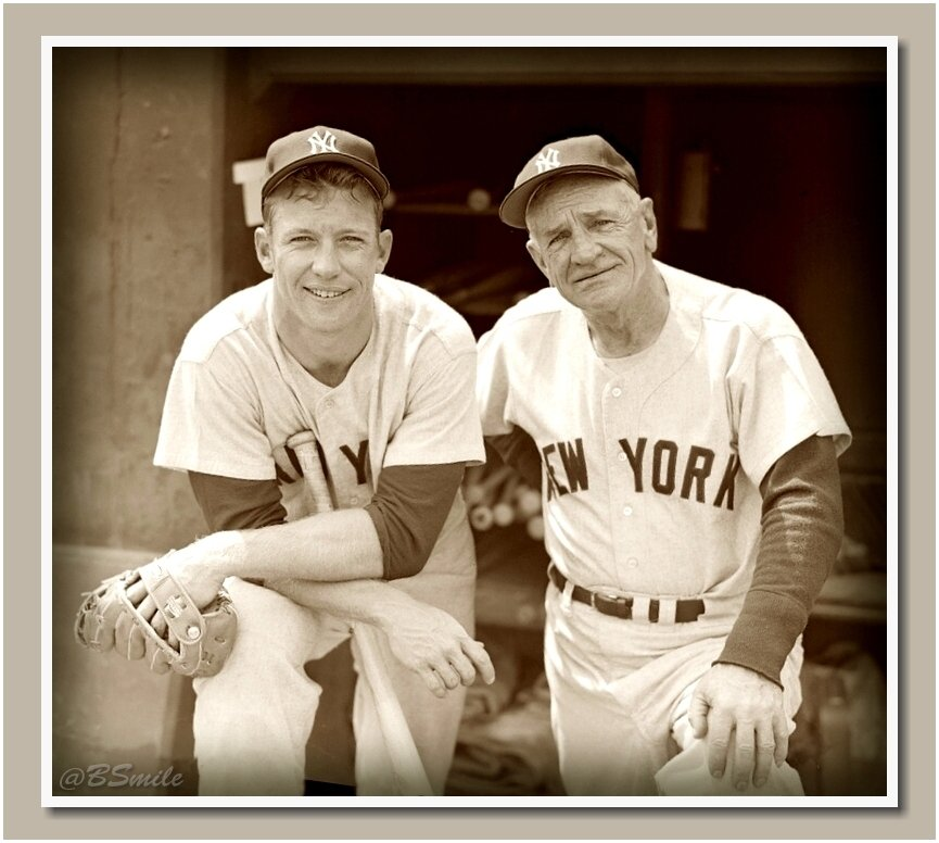 """""""Managing is getting paid for home runs someone else hits."""" ~ Casey Stengel #MLB #Yankees #WednesdayWisdom"""