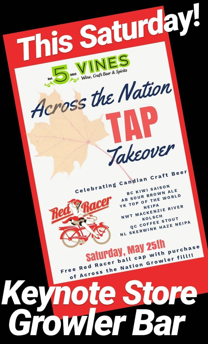 Get your growler bottles ready for this Saturday's tap takeover!