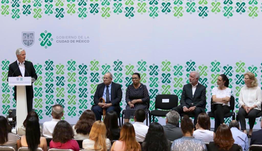 En coordinación con autoridades federales, estatales y de la #CDMX presentamos el Nuevo Programa para Prevenir y Responder a Contingencias Ambientales Atmosféricas, a través de la @CAMegalopolis.