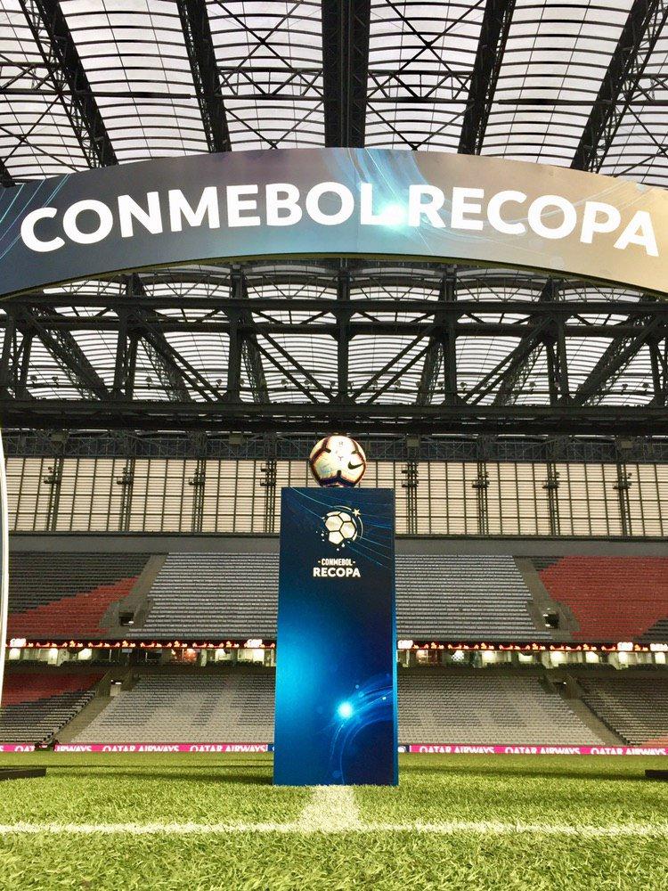 🔝Arena da Baixada 👉 @AthleticoPR 🆚 @CARPoficial   🏆@RecopaConmebol
