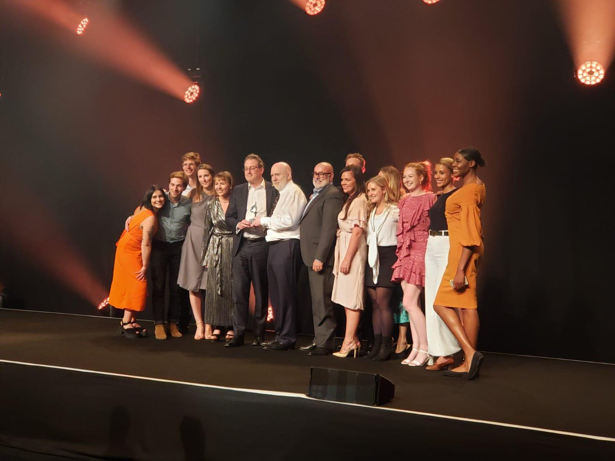 We are absolutely thrilled to have won EMEA Agency of the Year at the #SABREAwards for the second year in a row! Congratulations to all our colleagues who made this win possible. @HK_EMEA #HKwin #HKfamily https://t.co/CkdzBD1Dpa