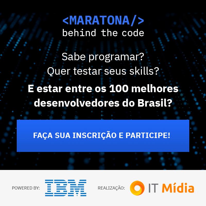 Sabe programar? Quer testar os seus skills e ainda ser reconhecido entre os melhores desenvolvedores do Brasil? Está no ar a Maratona Behind the Code!  Competição virtual que vai aprimorar seus conhecimentos técnicos!  As inscrições estão abertas em: http://bit.ly/2JzGQAp