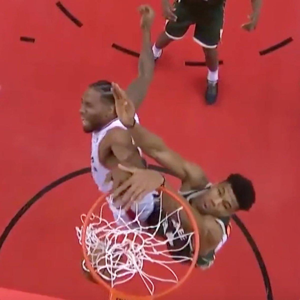 These are Kawhi Leonard's #NBAPlayoffs 🖐💯