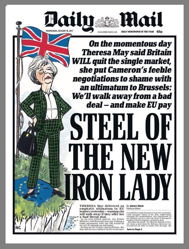 TOMORROW: Never gets old.#MailFrontPages#TomorrowsPapersToday