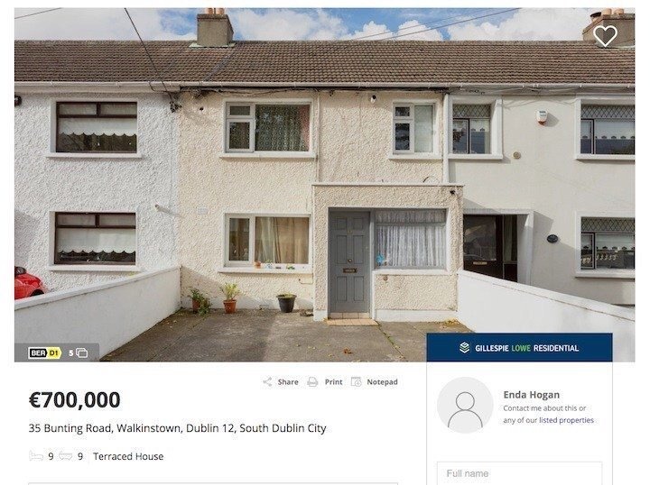 There is no room too small or austere  in Dublin that you would be unable to find someone willing to rent it - at exorbitant cost - given how dysfunctional the current market is & how desperate many people are.